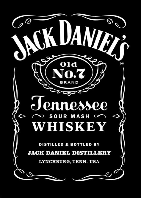design   jack daniels label top label maker