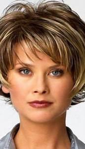 Coupe De Cheveux Pour Visage Rond Femme 50 Ans : coiffure cheveux court femme 50 ans 2016 ~ Melissatoandfro.com Idées de Décoration