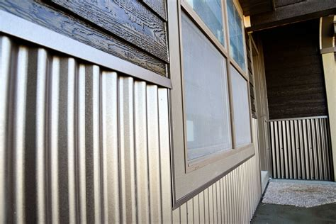 Tin Wainscoting Panels by 5 Ways To Update Your Home With Corrugated Metal In 2019