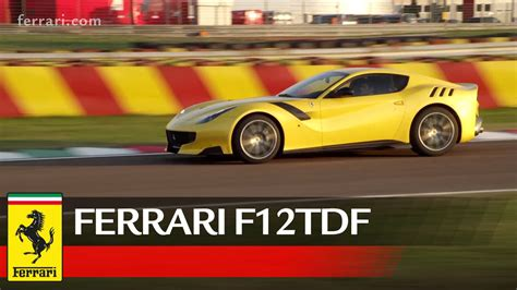 Founded by enzo ferrari in 1939 out of the alfa romeo race division as auto avio. Ferrari F12tdf - Official Video - YouTube