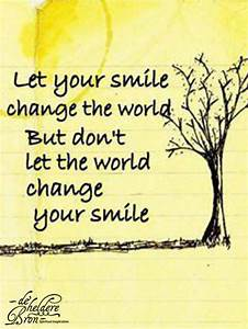 Wear Your Smile Motivational Quotes. QuotesGram