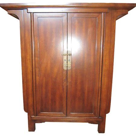 accent console cabinet asian loft ming narrow console 2 door accent cabinet