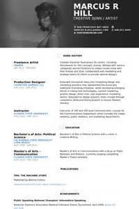 artist curriculum vitae exles freelance artist resume sles visualcv resume sles database