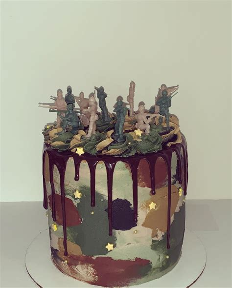 See more ideas about cake, cupcake cakes, nursing cake. Army Man Cake - CakeCentral.com