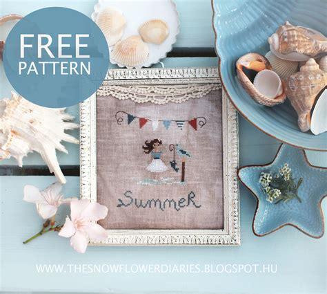 The Snowflower Diaries Free Summer Pattern