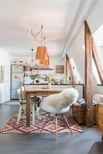 Boho Style Wohnen : k chengestaltung ideen und aktuelle trends 2017 ~ Kayakingforconservation.com Haus und Dekorationen