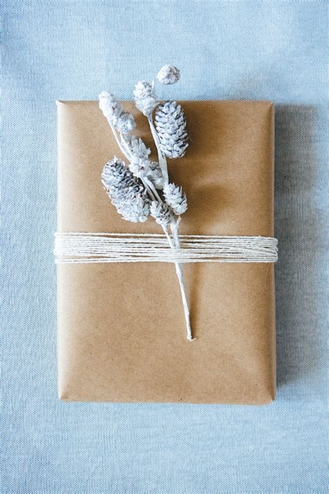 weekend projects 10 beautiful gift wraps to make poppytalk