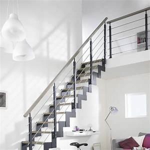 Rampe D Escalier Moderne : escaliers cool rampe d escalier interieur design de maison moderne ~ Melissatoandfro.com Idées de Décoration