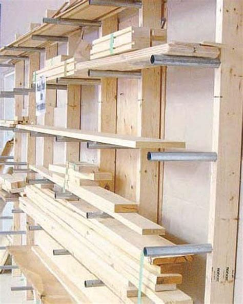 ideas  lumber storage  pinterest lumber rack wood storage rack  wood shop