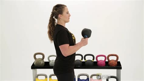 kettlebell curl bicep kings workout