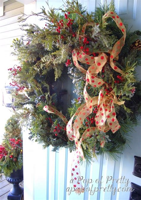 traditional christmas wreath makeover    real