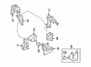 Toyota Corolla Bracket  Engine Mount   Rear   1 8 Liter W