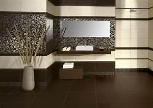 decoration salle de bain ceramique With carrelage adhesif salle de bain avec lampe led 30w