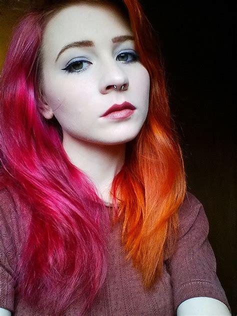 ideas  purple streaks  pinterest hair