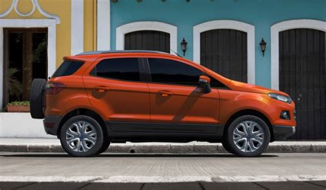 Ford Ecosport Small Suv To Arrive In U.s. For 2017 From India?