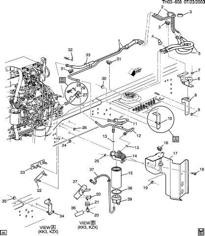 2000 Chevy C6500 Wiring Diagram by 2003 2009 Topkick Kodiak C6500 C8500 Fuel Filter W Bracket