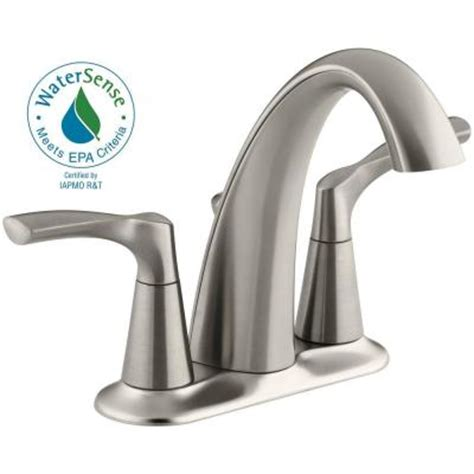 Kohler Mistos Sink Faucet by Kohler Mistos 4 In Centerset 2 Handle Bathroom Faucet In