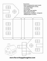 Best 25+ ideas about Paper House Template | Find what you\'ll love