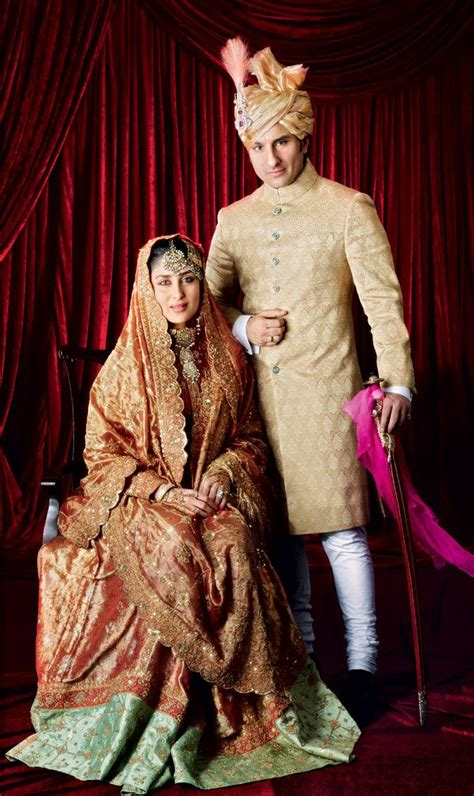 kareena kapoor khan wore mother  law sharmila tagores bridal lehenga image avinash