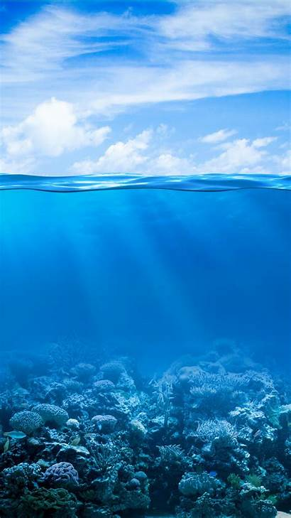 Ocean Iphone Underwater Wallpapers Sea Screensavers Nature