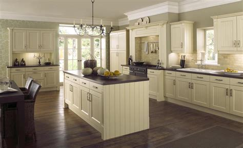 New England Buttermilk Traditional Kitchen   StyleHomes.net