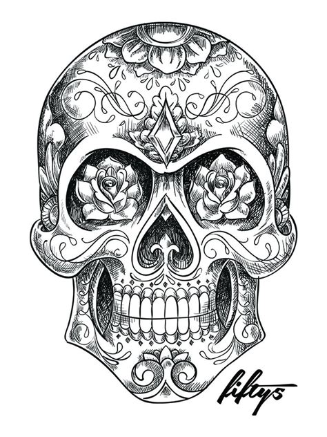 Sugar Skull Google Search Mexican Tattoo
