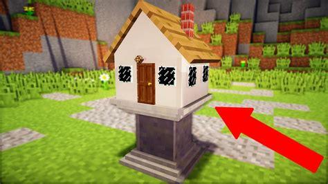 worlds smallest minecraft house youtube