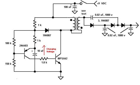 Simulation Understanding High Voltage Generator