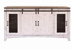 white sliding barn door eliza entertainment center wall With barn door entertainment unit