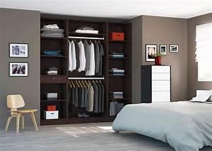 Dressing Sans Porte : placard dressing le rangement design personnalis ~ Dode.kayakingforconservation.com Idées de Décoration