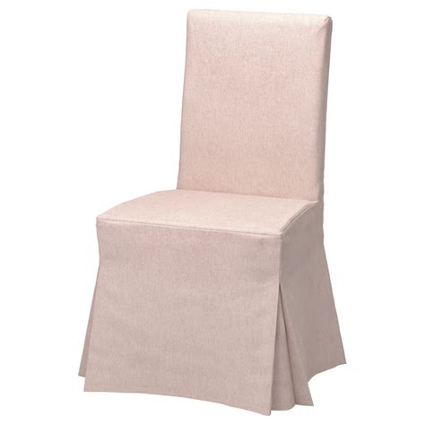 ikea housse de chaise henriksdal chair cover gunnared pale pink ikea