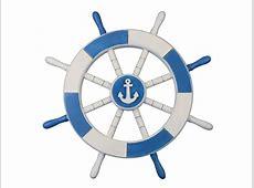Light Blue Anchor Clip Art