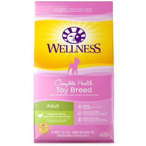wellness complete health natural small toy breed deboned