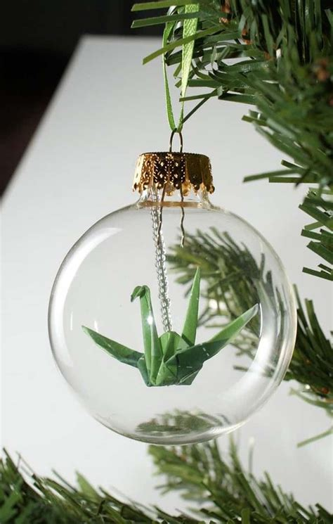 clear christmas glass ornaments