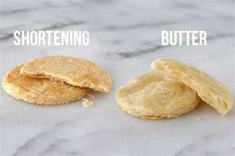 can you use butter instead of shortening butter vs shortening which is better handle the heat