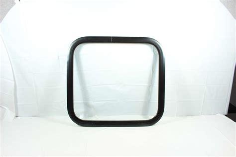 solid clear window challenger door