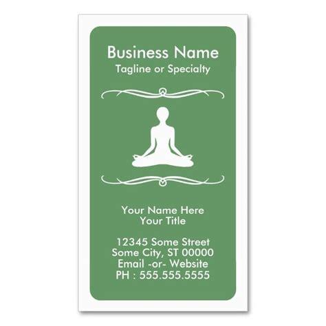 mod yoga loyalty card zazzlecom    images