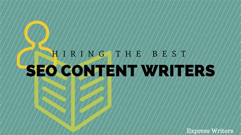 Seo Content by Hiring The Best Seo Content Writers Express Writers