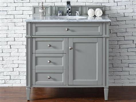 """James Martin Brittany Collection 36"""" Single Vanity, Urban Gray"""