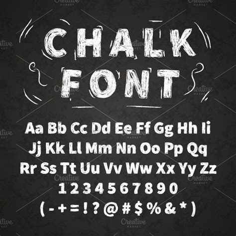 blackboard with white letters white chalk font on chalkboard by evgeniy on 20621 | 571f18638ada4c0b9697677369e5adf9
