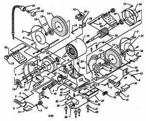 Craftsman 319211260 Bench Grinder Parts