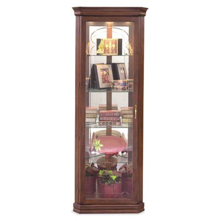 curio cabinets walmart lighthouse tempo lighted corner curio cabinet walmart