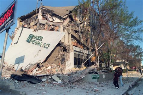 The Northridge Earthquake Was 25 Years Ago, And It Looked