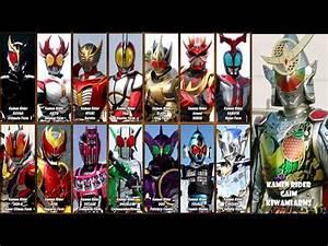 Kamen Riders Final Forms Themes (2000-2014) - YouTube  Kamen