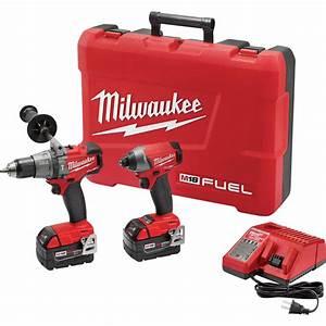 Milwaukee M18 Fuel Li 2in  Hammer Drill  Driver  U0026 1  4in  Hex