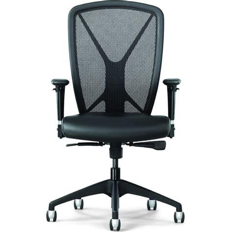 allseating fluid mesh task chair w optional headrest
