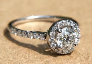 vintage inspired wedding rings engagement halo pave vintage inspired engagement ring from etsy