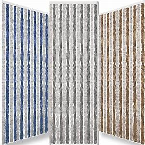 Rideau Bleu Gris : rideau chenille 185 x 56 cm gris bleu pour camping car et caravane leader loisirs ~ Teatrodelosmanantiales.com Idées de Décoration