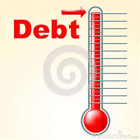 Maybe you would like to learn more about one of these? Thermometer Credit Indicates Debit Card And Banking Stock ...