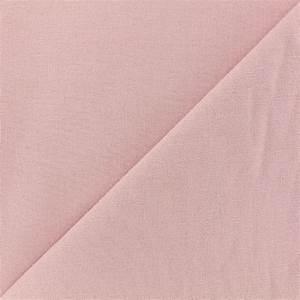 Tissu Rose Poudré : tissu toile de coton uni demi natt vintage rose poudre x 10cm ~ Teatrodelosmanantiales.com Idées de Décoration
